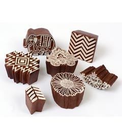 Fabric Creations™ Block Printing Stamps