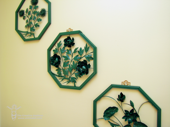 Vintage Wall Art Makeover