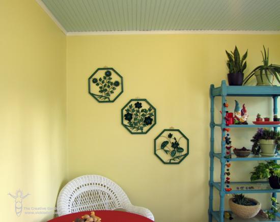 Vintage Wall Art Makeover