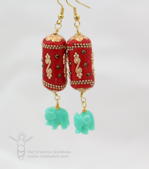 Chinese New Year Inspired Earrings
