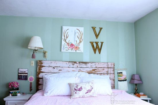 Dead of Winter Bedroom Refresh