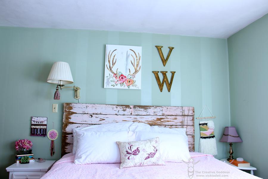 Dead of Winter Bedroom Refresh