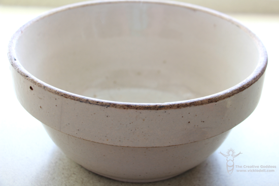 Family keepsake - bowl