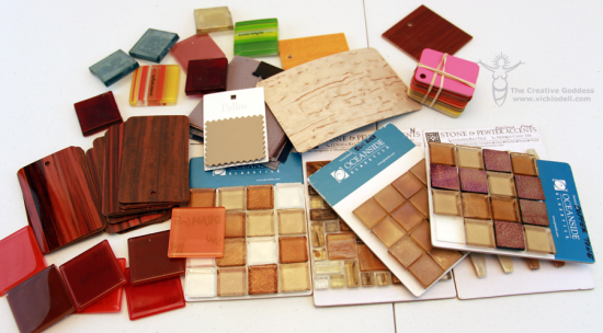 Tiles and Countertop samples
