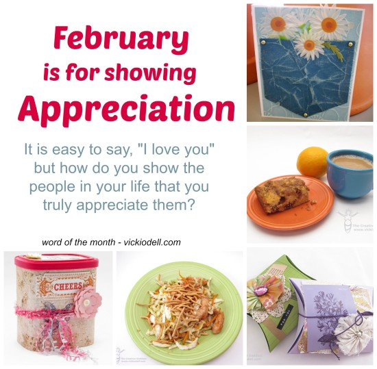 One Little Word for February – Appreciation