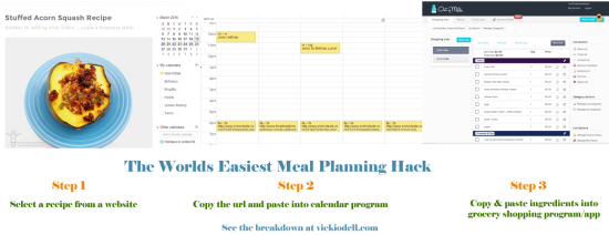 Worlds Easiest Meal Planning Hack