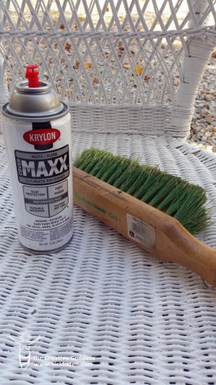 Krylon Cover Maxx and Soft Brush