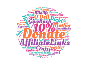 I am donating 10% of all income from affiliate links to charity
