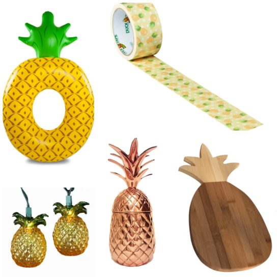 Pineapple for Home Decor