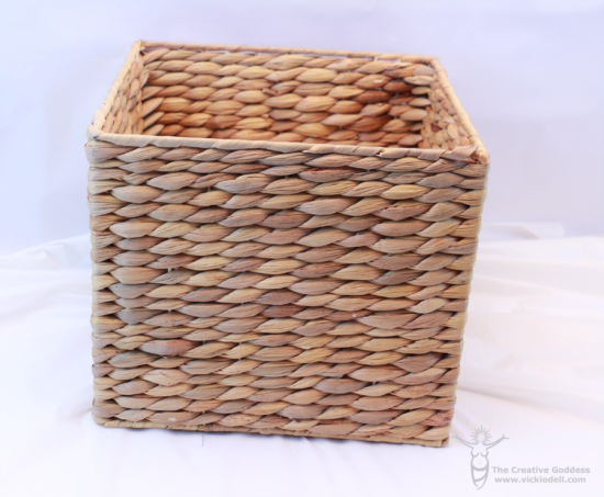 embroidery basket, sweet grass basket