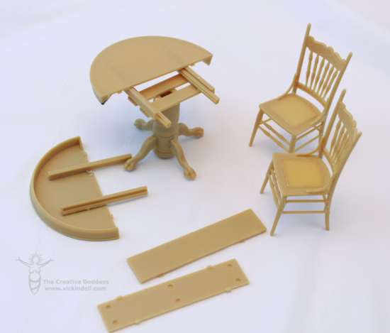 HBS Miniatures Dining Set