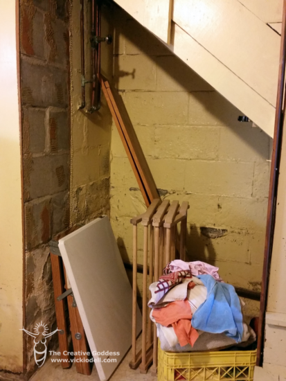 Under the Stairs Root Cellar
