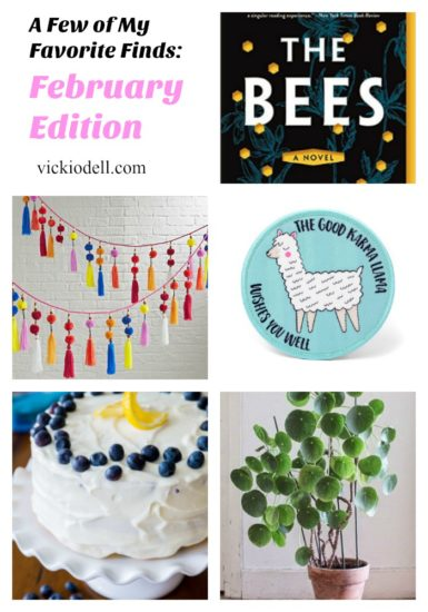 Found Treasures and Trends:  February Edition