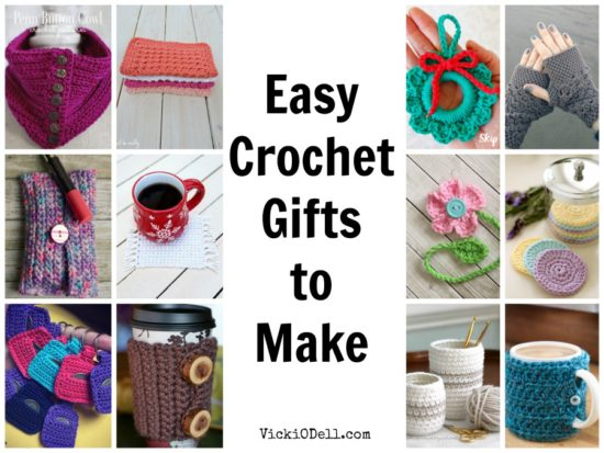 Easy Crochet Gifts