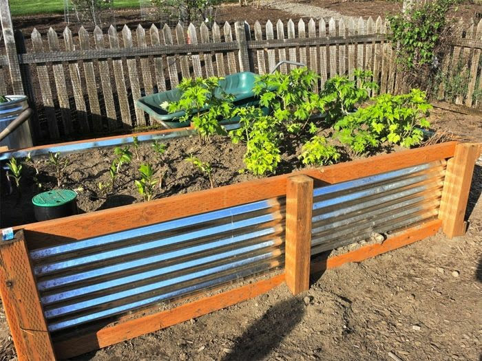 Gardening in Place with raised beds