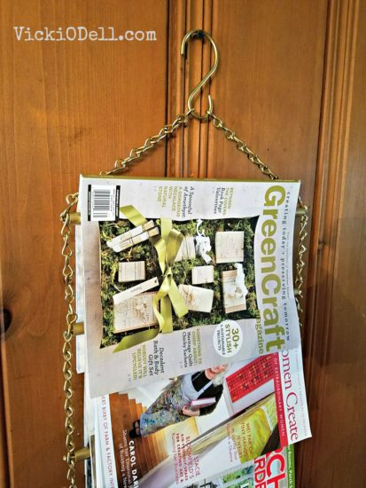 DIY Magazine Display for Magazine Junkies