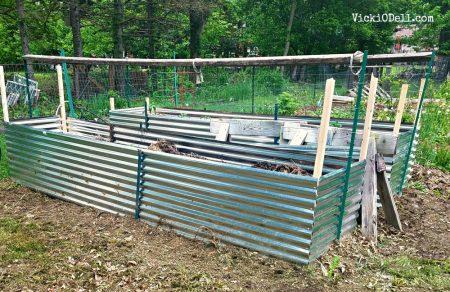 raised beds, permaculture, gardening, aging gardener
