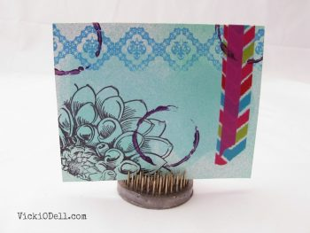 Mixed Media Greeting Card