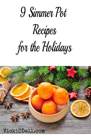9 Simmer Pot Recipes for the Holidays